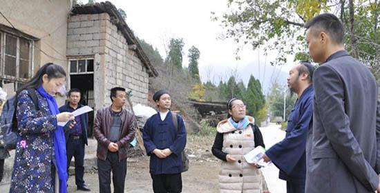 西安八仙宫前去山阳山区走访赞助贫穷学子