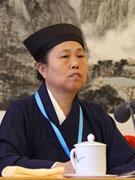 中国道教协会副会长、湖南省道教协会会长黄至安道长