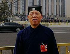 中国道教协会副会长兼秘书长张凤林道长