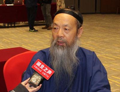 中国道教协会会长李光富道长